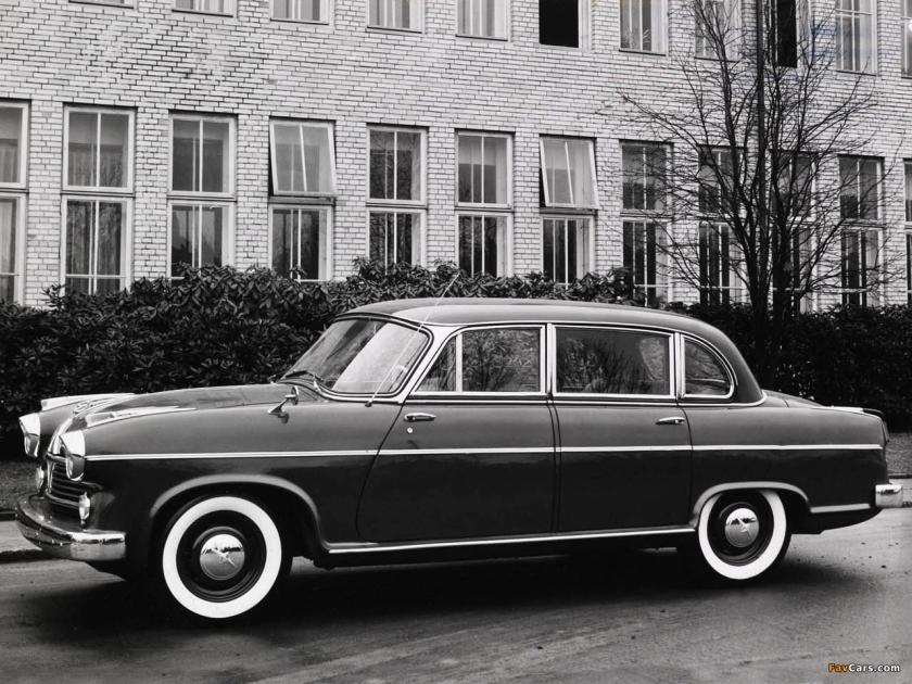1957 borgward hansa 2400 limousine