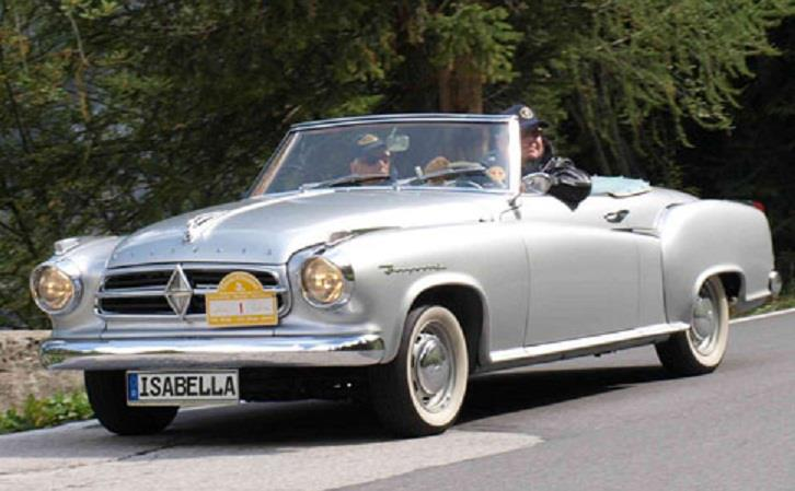 1957 Borgward Isabella cabriolet