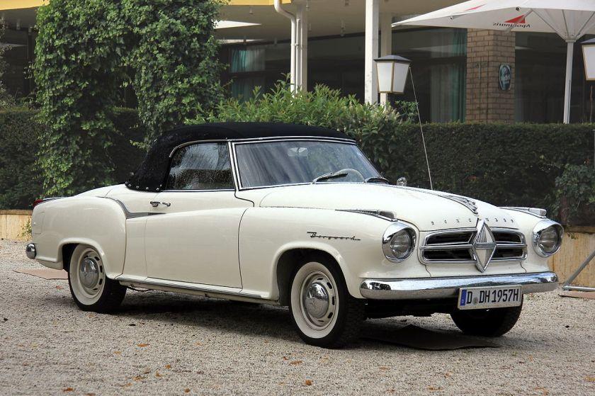 1957 Borgward Isabella Coupé, umgebaut zum Cabriolet