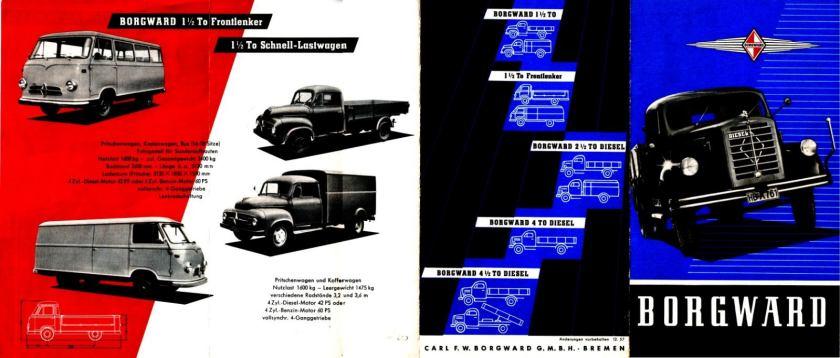 1957 Borgward serie a
