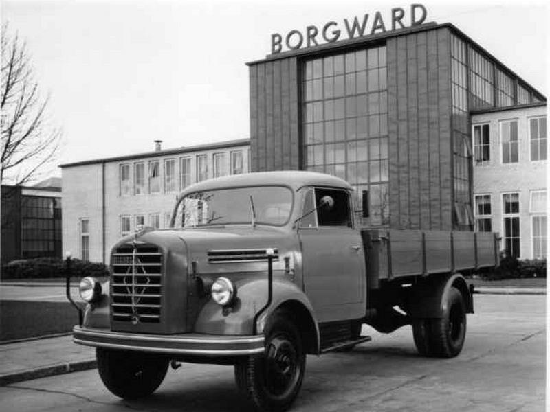 1957 Borgward voor fabriek