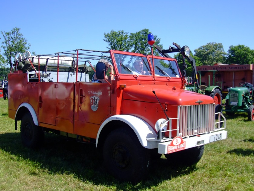 1958 Borgward B 2000 Tragkraftspritze