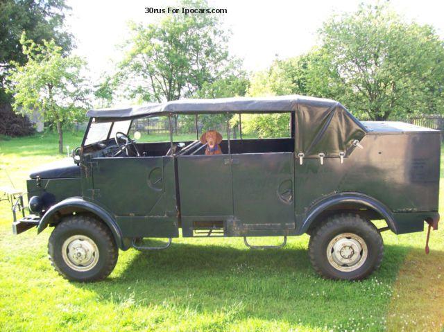 1958 Borgward B2000 A