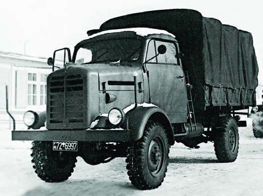 1958 Borgward В2000А, 4x4