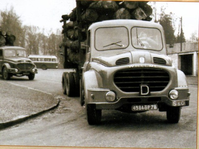 1958 WILLEME LC 610, les rois de la route
