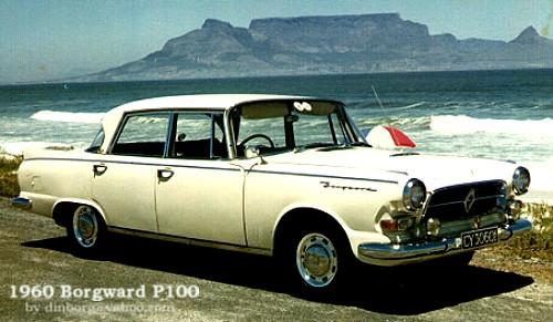 1960 Borgward P100