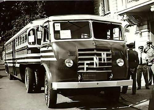 1960's FNM Alfa Romeo Truck - for transport of PASSENGERS in RIO DE JANEIRO in the early (1960s)