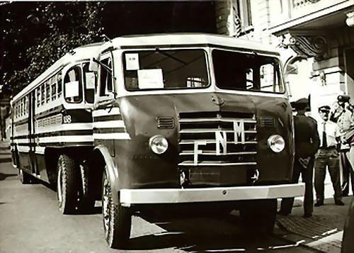 1960's FNM Alfa Romeo Truck - for transport of PASSENGERS in RIO DE JANEIRO