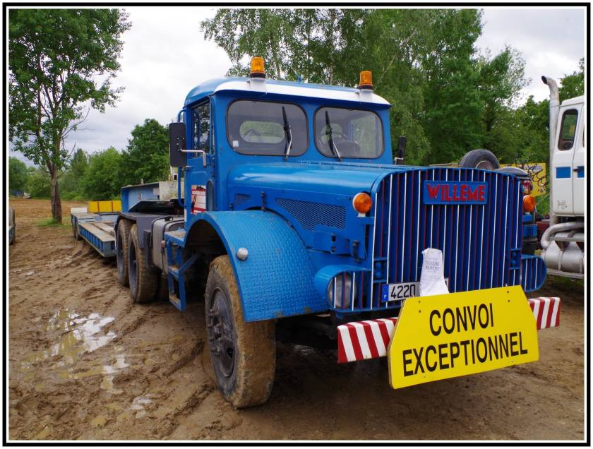 1962 Willeme RD 615 DT Convoi Exceptionnel