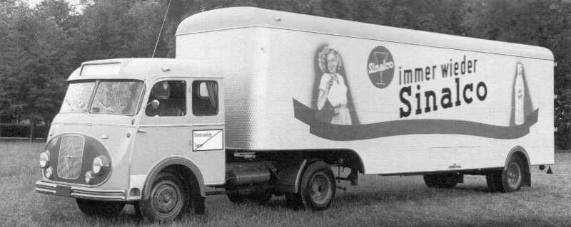 1964 Borgward b4500f-1