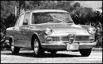 1964 FNM 2000 (R4 cyl, 1975 cc, 95 bhp)