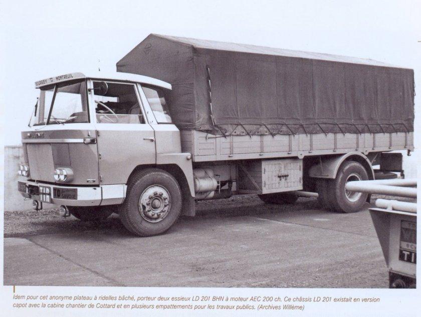 1964 Willème LD 201 en cabines horizons