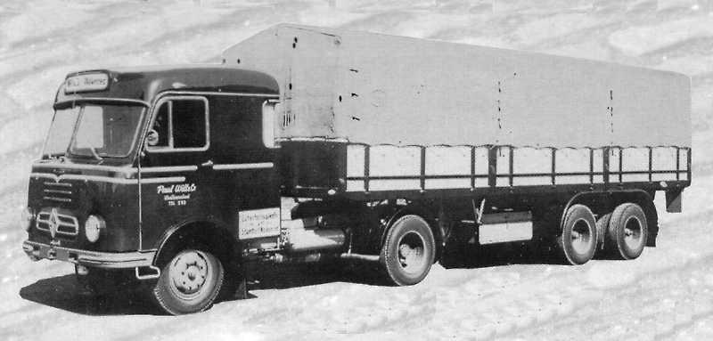 1965 Borgward b4500-17