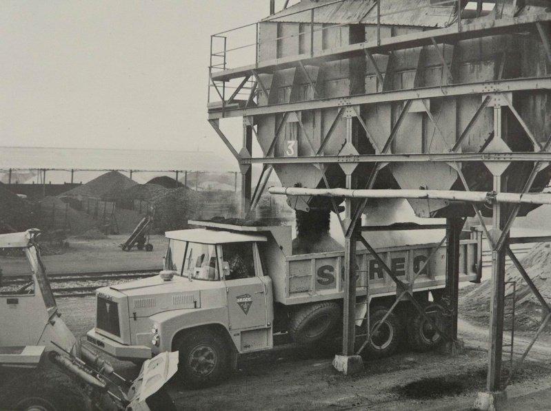 1965 Willème au chargement de la SCREG
