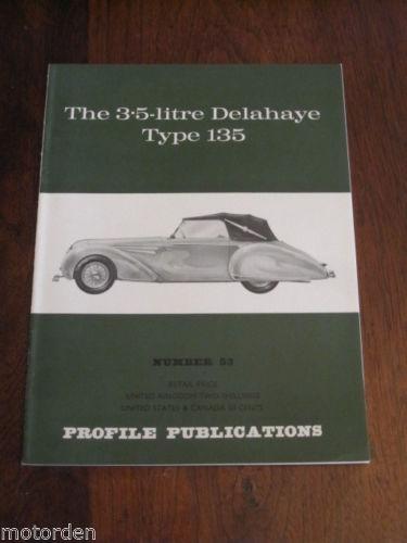 1967 3.5 Litre DELAHAYE Type 135 d