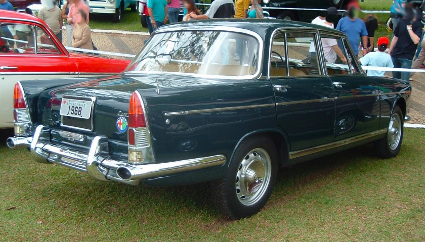 1968 FNM JK 2000 Alfa Romeo