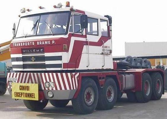 1968 Willeme Convoi Exceptionelle