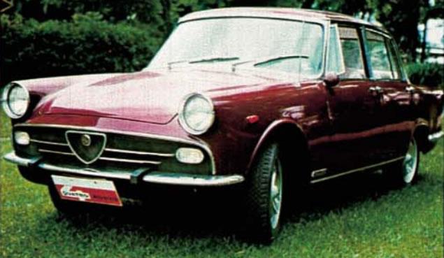 1969 FNM Alfa Romeo 2150a