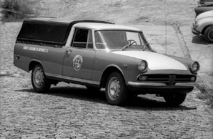 1970 FNM Alfa Romeo 2150 Pick-up - from Brasil