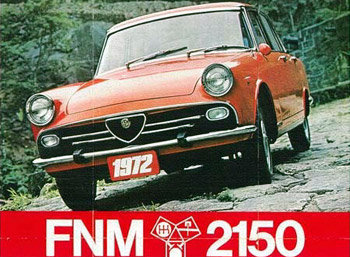 1972 FNM 2150 ( FNM Alfa Romeo)a