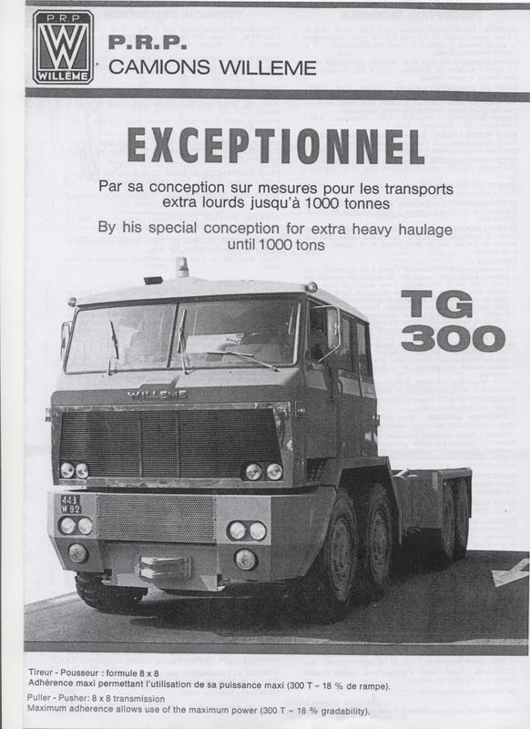1972 WILLEME TG 300
