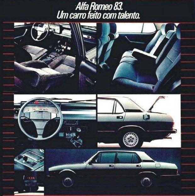 1983 Alfa-Romeo 2300 Ti4 - Brasil