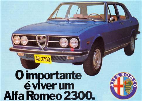 Alfa Romeo 2300 Brasil