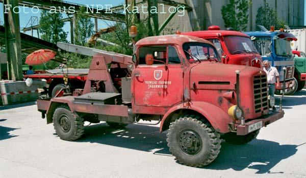 Borgward B 2000 Kranwagen
