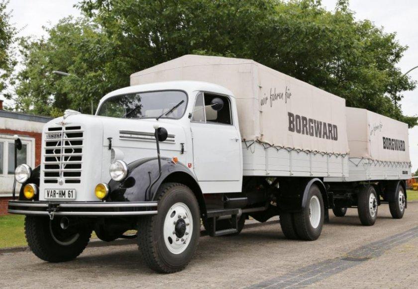 Borgward B 4500 A white