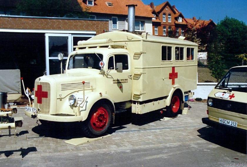 Borgward B-4500 AK Rote Kreuz