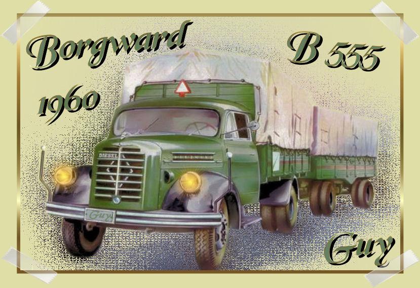 borgward b 555...1960