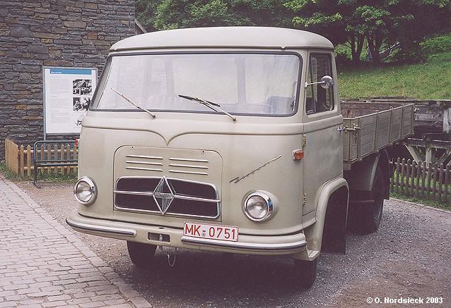 Borgward B 622 Pritschen-Lkw (klein)