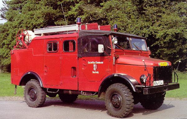 Borgward B2000 Feuerwehr 1