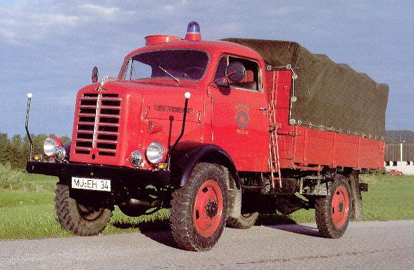 Borgward B2000 Feuerwehr