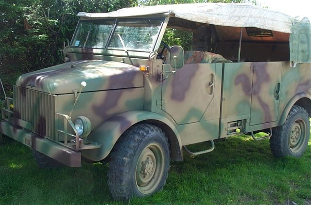 Borgward B2000 Troop Truck
