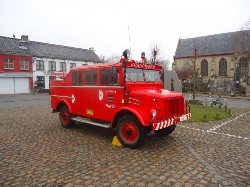 Borgward B522 brandweer Antwerpen
