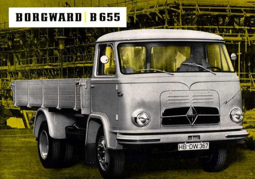 Borgward B555folder kant a