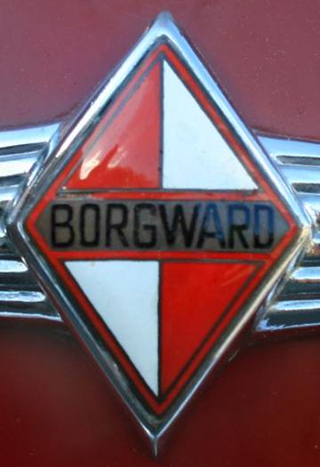 Borgward-Emblem auf Lkw Borgward B 2500