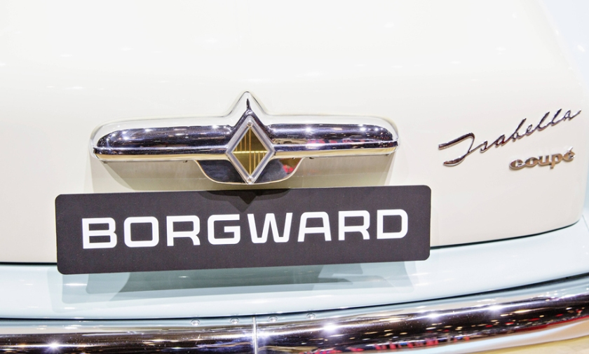 German carmaker Borgward announced comeback during the 85th International Motor Show in Geneva Swi