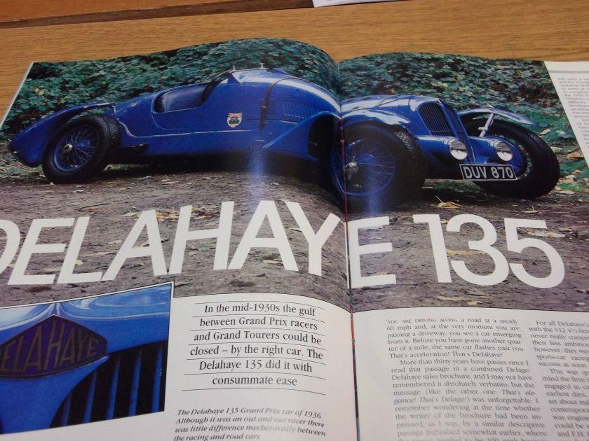 Delahaye 135, Alfettaa