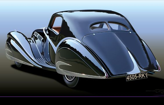 Delahaye 135 Art Deco on Wheels - Beautiful