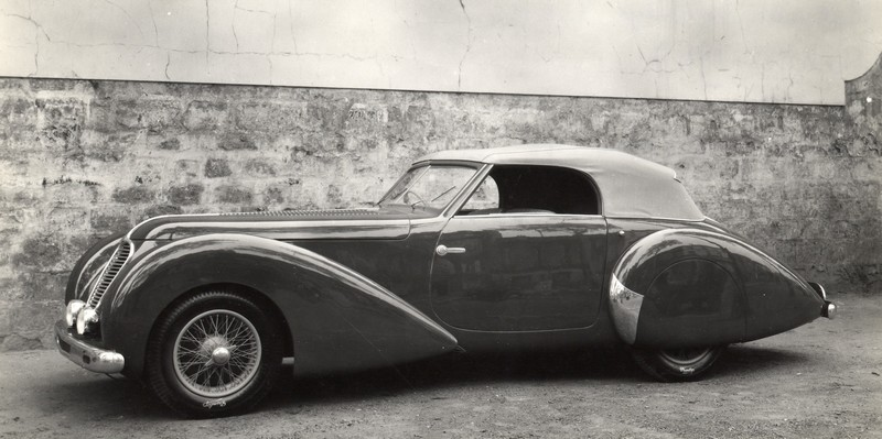 Delahaye 135 MS Cabriolet Pourtout