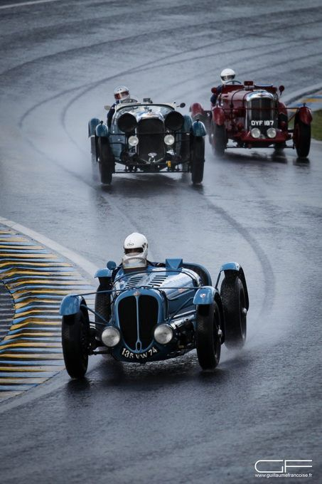 Delahaye 135 S in action