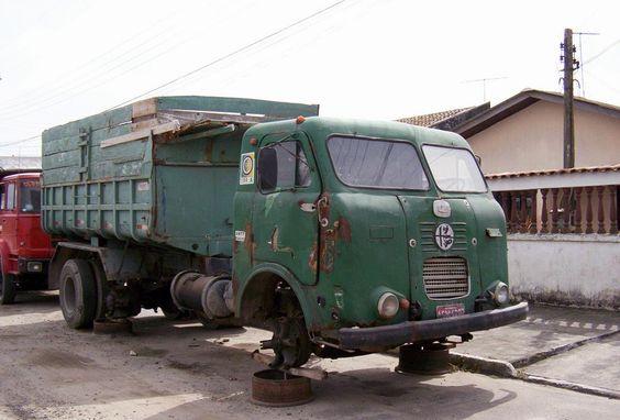 FNM Alfa Romeo Caminhao - Truck