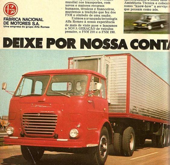 FNM  Brazilian Alfa Romeo Truck - adv