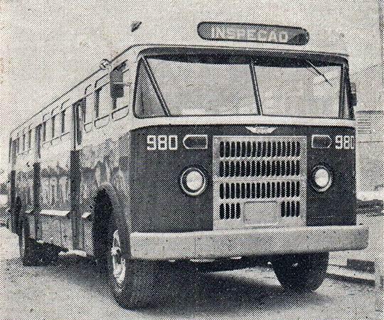 FNM Bus Brasil inspecäo