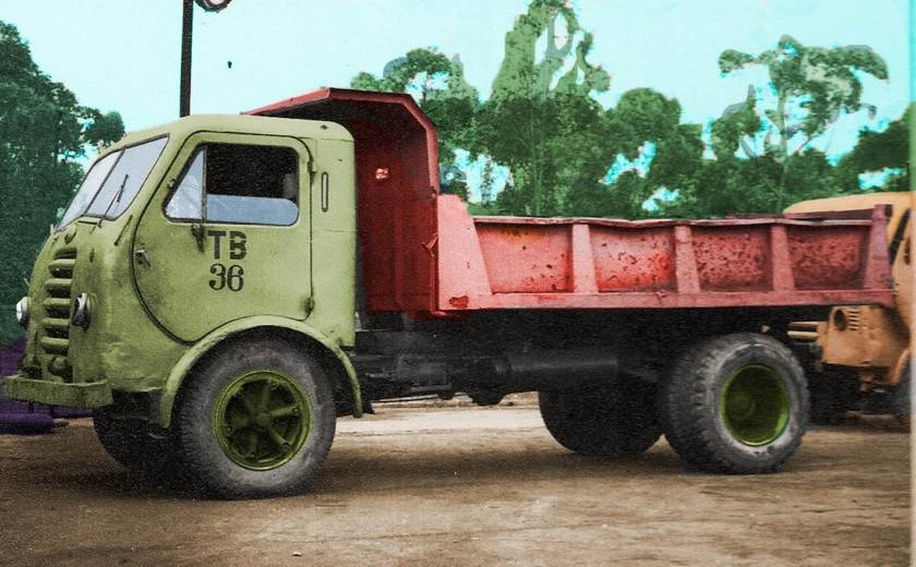 FNM D-9500 Cabine Standard Intermediária