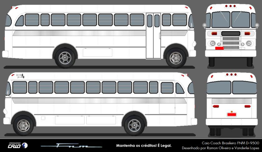 FNM D-9500 Caio Coach