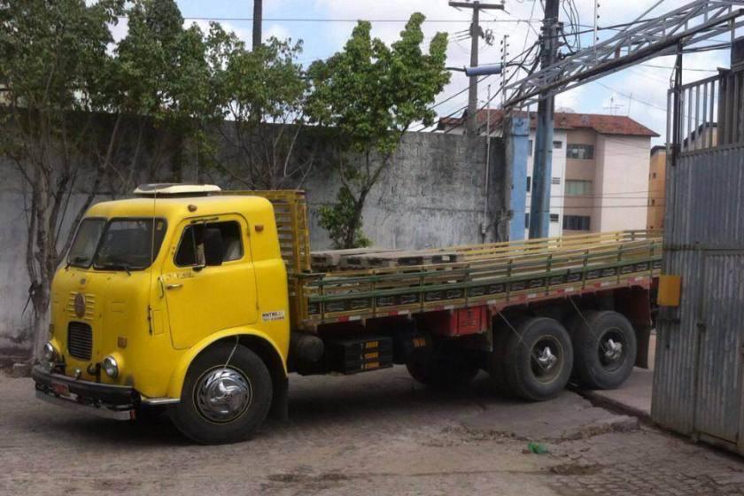 FNM D-9500 Yellow Brasil
