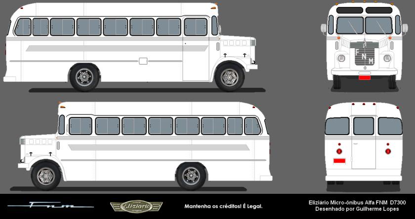 FNM D7300 Eliziário Micro-Ônibus Alfa